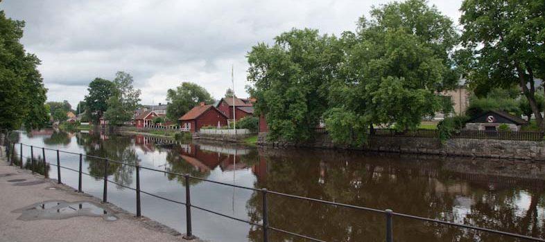 Bild på Arboga å från 2010-08-18 Arboga å.