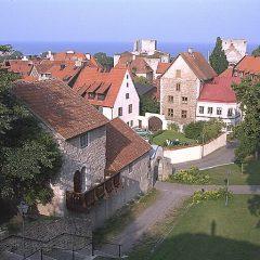 Visby, kyrktrappan från Klinten