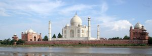 En bild Taj Mahal ger många visningar