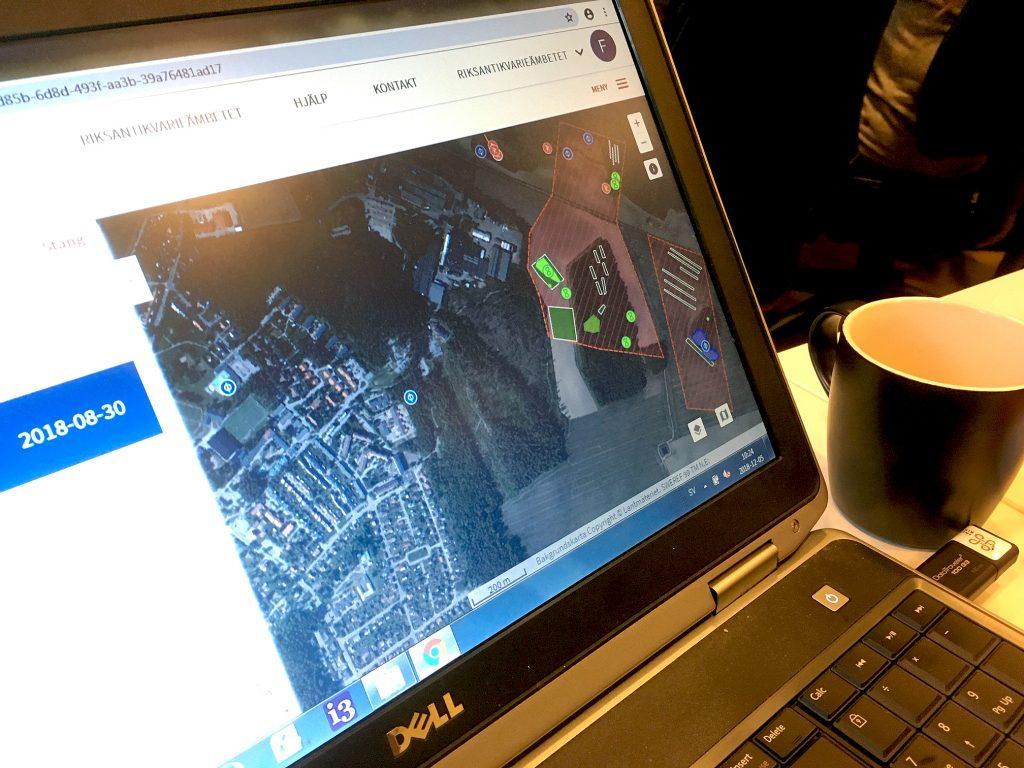 Webbapplikationen Fornreg är ett verktyg för yrkesverksamma att registrera och uppdatera information om arkeologiska uppdrag och lämningar i Sverige.