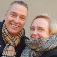 Ted Hesselbom och Anna Lihammer