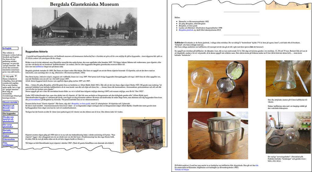 bild från webbplats med text och bild på ett hus