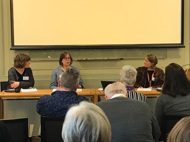 Annika Carlsson, Kicki Eldh och Lina Wennersten är några av de på Riksantikvarieämbetet som arbetar med de båda vägledningarna.