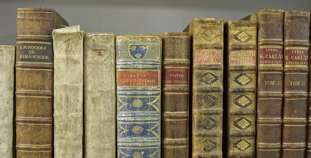Böcker på hylla