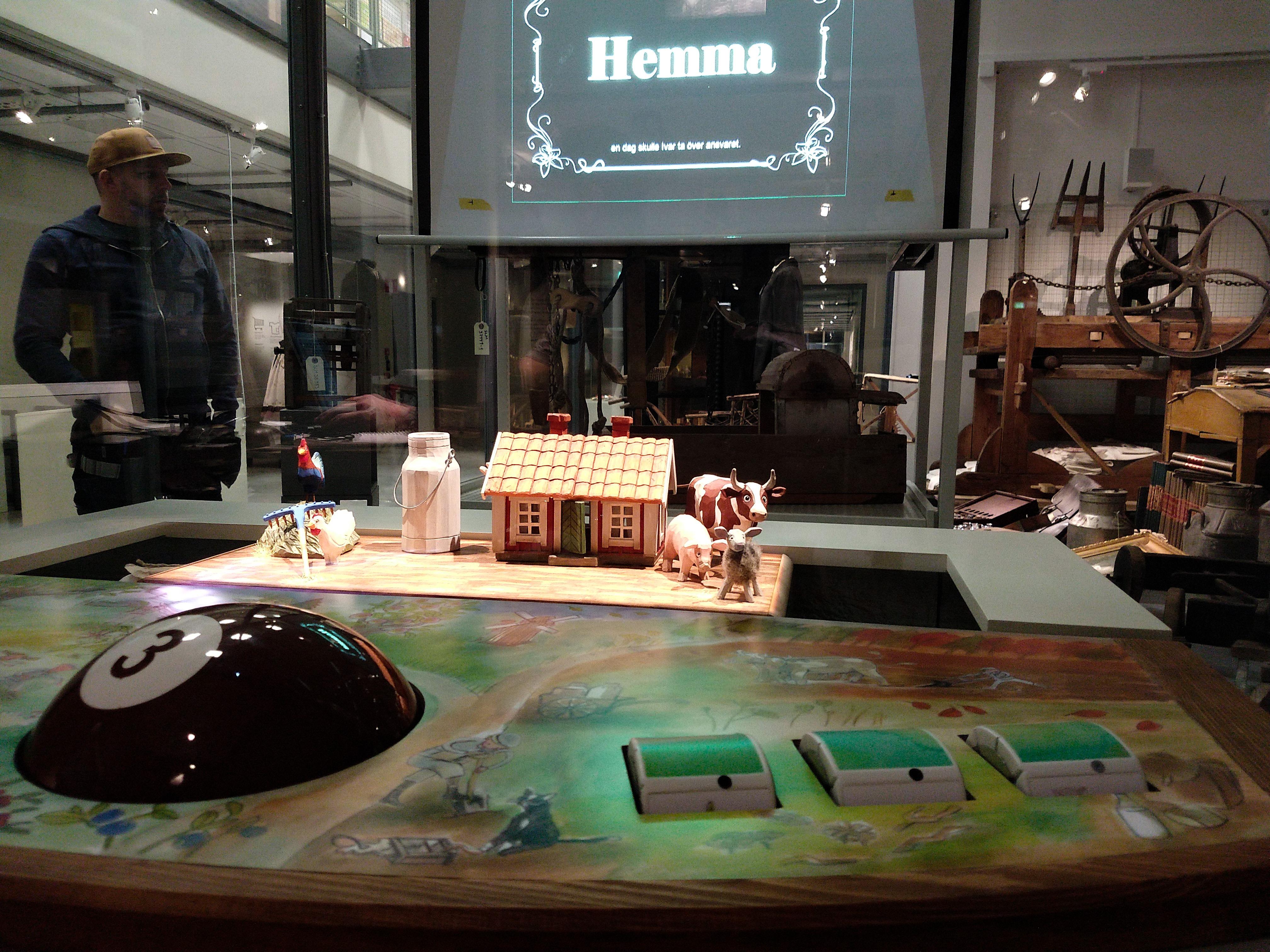 Digital teknik låter besökare interagera med museets samlingar