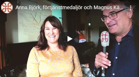 Anna B Magnus K, award ceremony