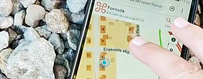 GPS i Fornsök