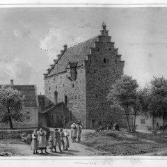 Illustration av F Richardt från 1861 ur Skånska Herregårdar