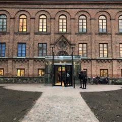 Fasaden och entrén på HIstoriska museet vid Lunds universitet