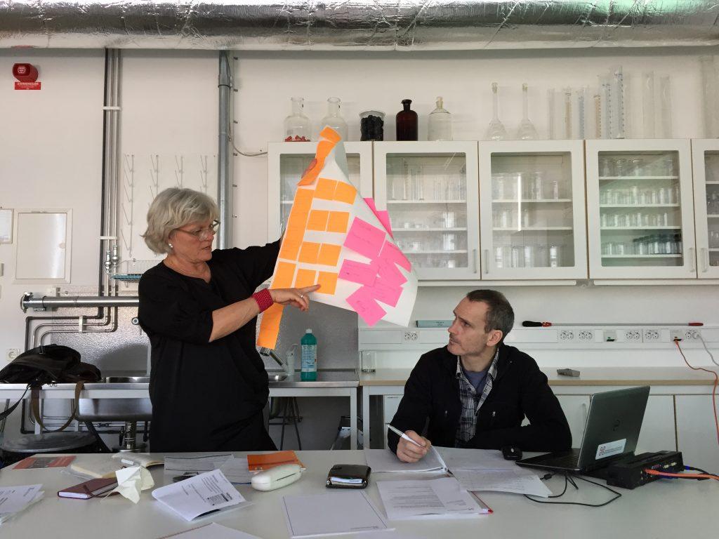 workshop kring ohälsosamma ämnen i samlingar