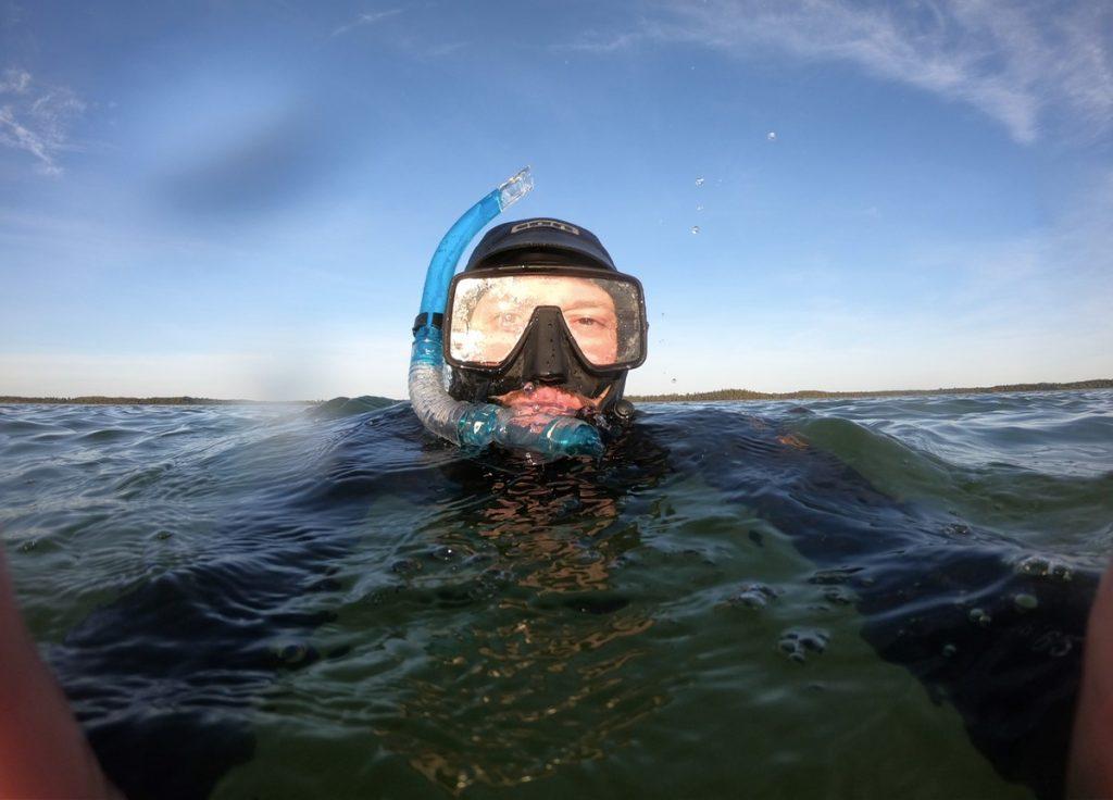 Antikvarien Peter dAgnan ifärd med att dyka ner på Bulverket.