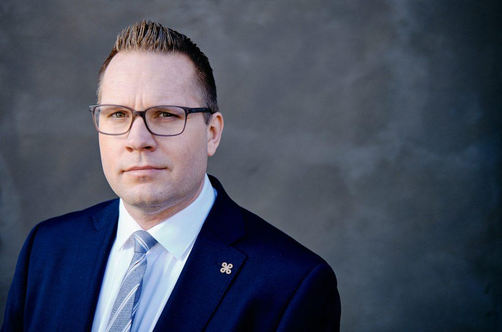 Riksantikvarie Joakim Malmström