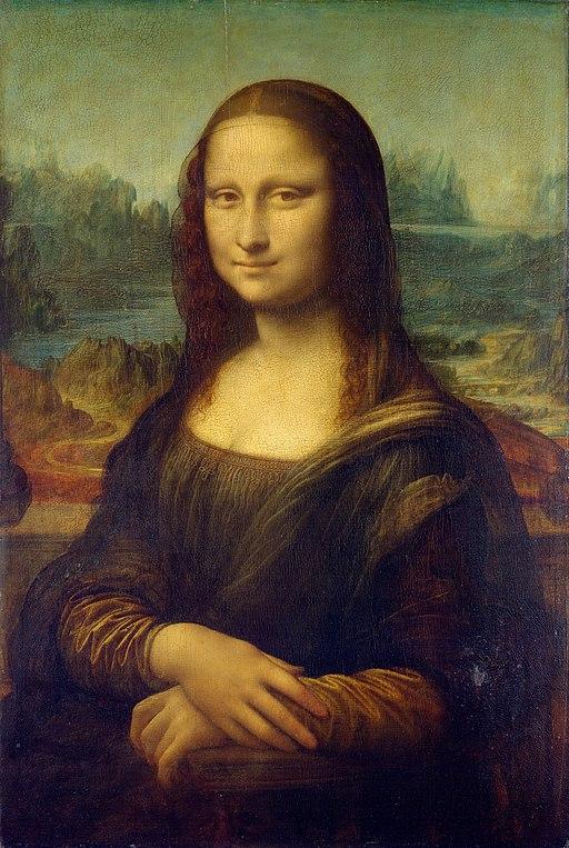 porträtt på Mona Lisa