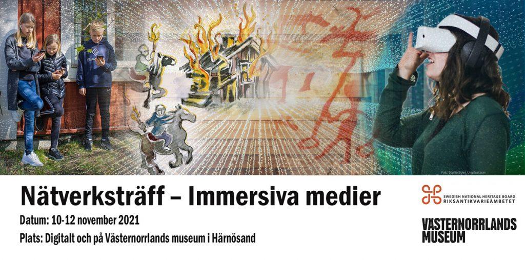 Nätverksträff för immersiva medier 10-12/11, 2021