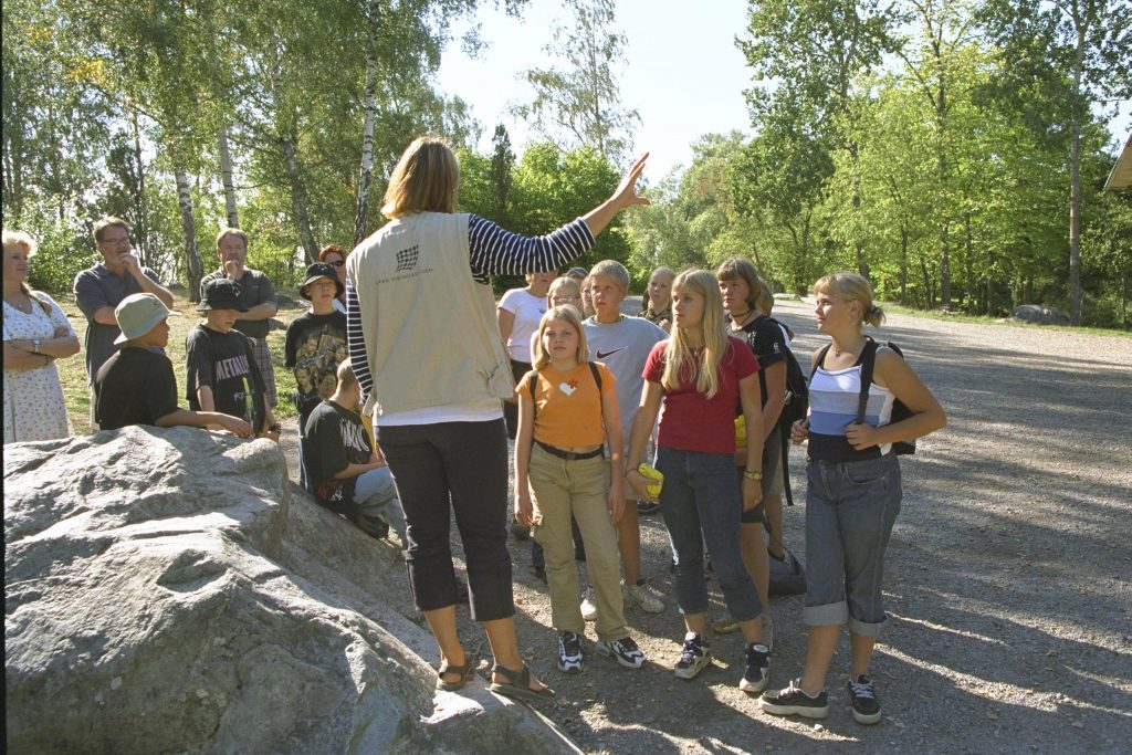 Björkö-Birka, Visning för besökare