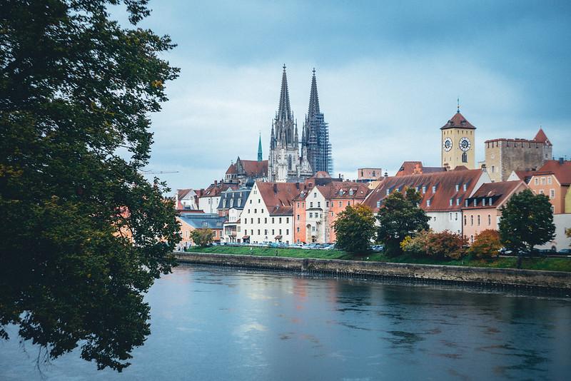 Regensburg, Tyskland.