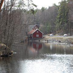 Kvarndammen vid Nacka ström, tidigare riksintresse i Stockholms län.